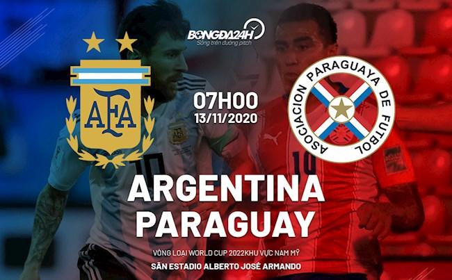 Argentina vs Paraguay nhan dinh