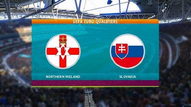Bac Ireland vs Slovakia