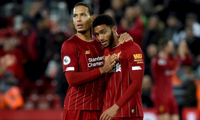 Đội hình Liverpool khủng hoảng ở vị trí trung vệ