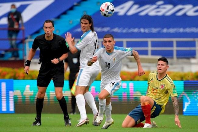 Video Kết quả Colombia vs Uruguay vòng loại World Cup 2022 hình ảnh
