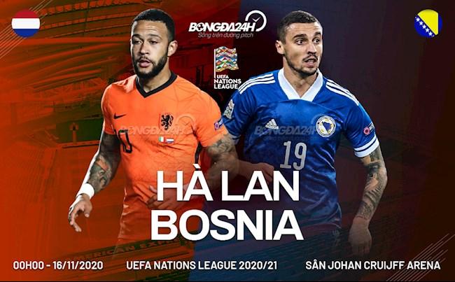 Ha Lan vs Bosnia
