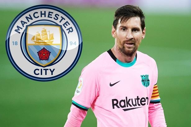 Man City gửi lời đề nghị khủng cho tiền đạo Lionel Messi  hình ảnh