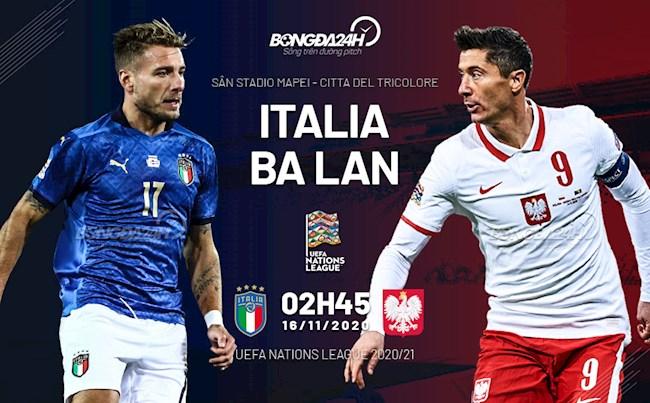 Italia vs Ba Lan