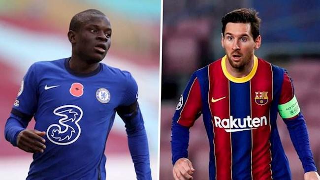 Để vô địch C1, PSG cần Kante thay vì Messi hình ảnh