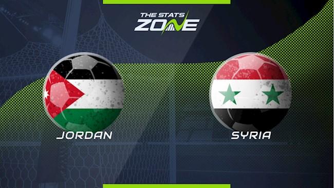 Nhận định bóng đá Jordan vs Syria 22h00 ngày 16/11