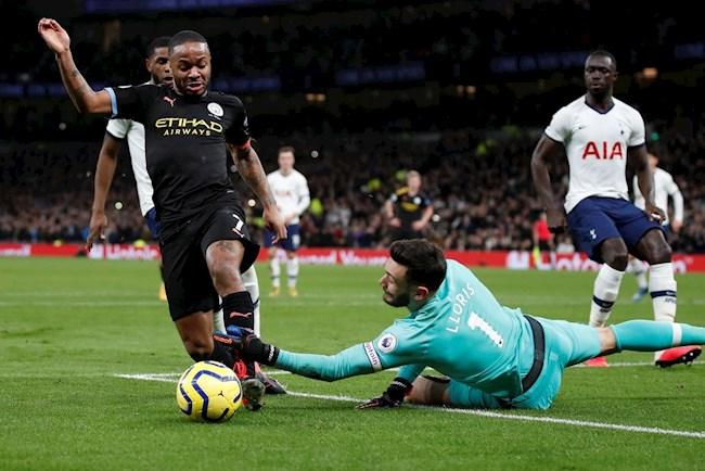 Tiền đạo Raheem Sterling có thể ra sân trước Tottenham hình ảnh