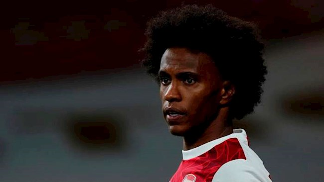 Willian không biết được Barca quan tâm trước khi đến Arsenal hình ảnh