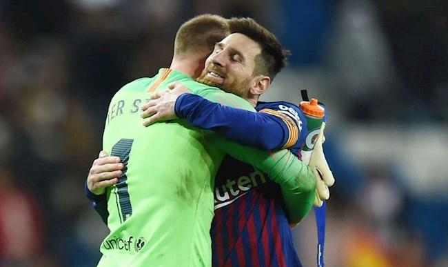 Đồng đội hy vọng Messi ký hợp đồng mới với Barca hình ảnh 2