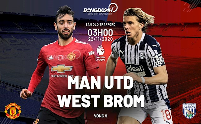 Truc tiep MU vs West Brom