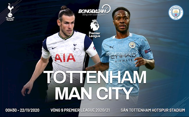 Truc tiep Tottenham vs Man City