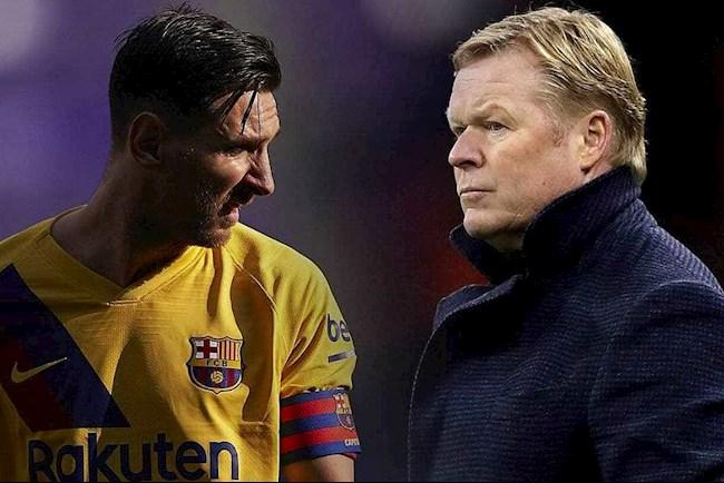 HLV Ronald Koeman lên tiếng về tương lai tiền đạo Lionel Messi hình ảnh