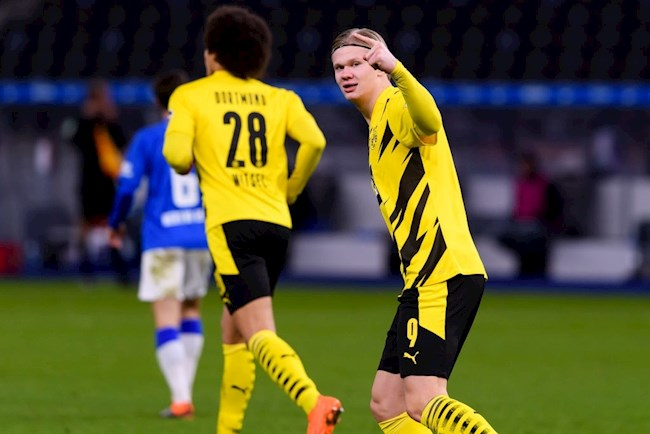 Video Kết quả Hertha Berlin vs Dortmund Bundesliga 2020 hình ảnh