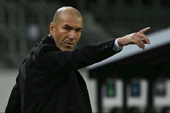 Zidane nói gì sau trận hòa của Real Madrid hình ảnh
