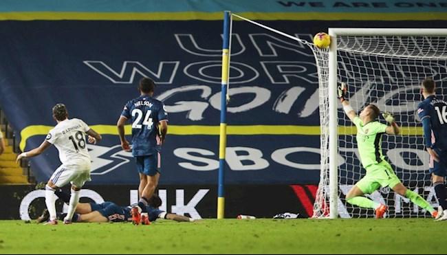 Khung go - Nguoi hung cua Arsenal khi tu choi den 3 ban thang cua Leeds United