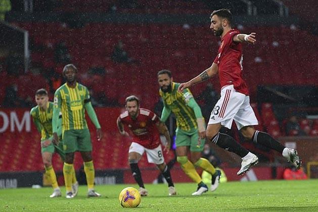 Nên cấm tiệt cách đá 11m của tiền vệ Bruno Fernandes hình ảnh