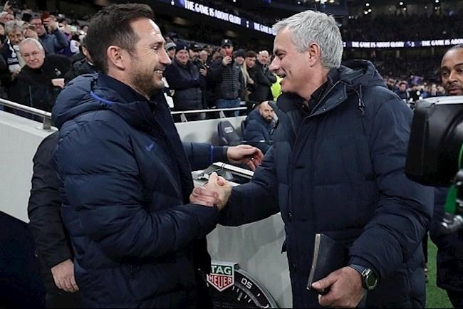 Frank Lampard vs Jose Mourinho - Vòng 10 Ngoại hạng Anh 202021 hình ảnh