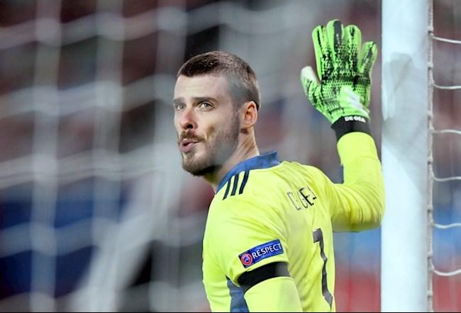 HLV Solskjaer cập nhật tình hình của thủ môn David de Gea hình ảnh