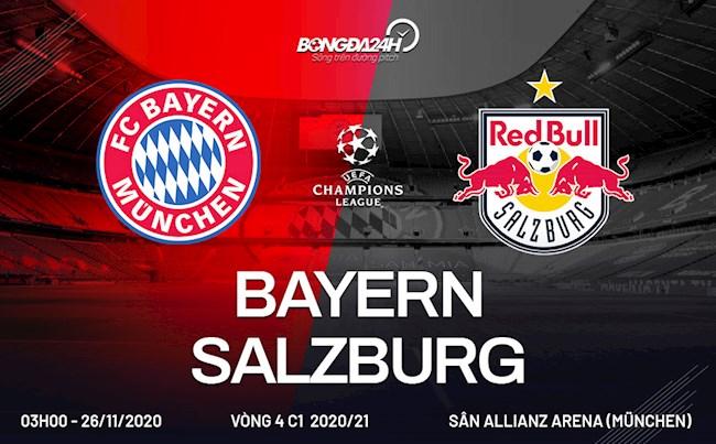 Bayern Munich vs Salzburg