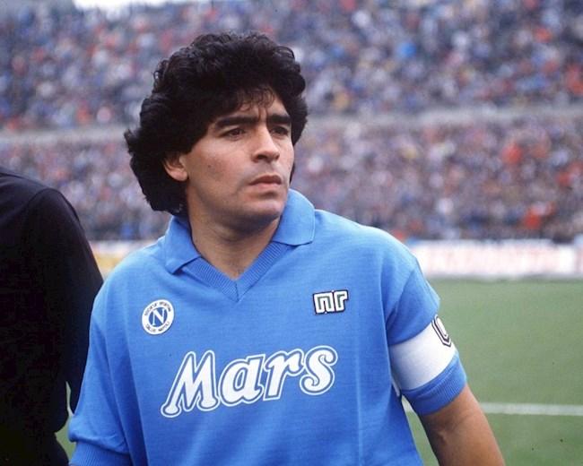 Loạt sao bóng đá tri ân Diego Maradona hình ảnh