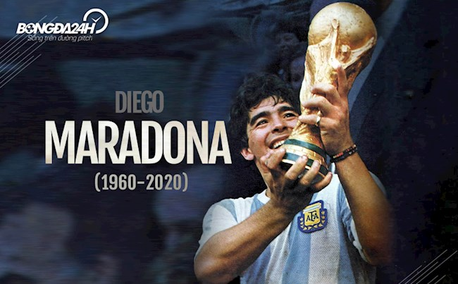 Diego Maradona Có một cậu bé hư bên ngoài sân cỏ hình ảnh