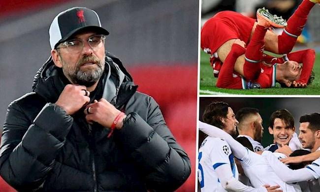 Liverpool vs Atalanta 0-2 Khổ ải còn đang chờ phía trước hình ảnh