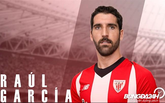 Tiểu sử cầu thủ Raul Garcia tiền vệ của CLB Athletic Bilbao hình ảnh