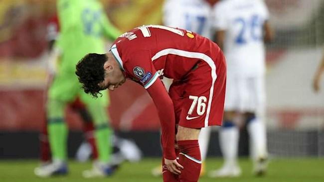 Neco Williams thách thức Liverpool sau trận thua Atalanta hình ảnh