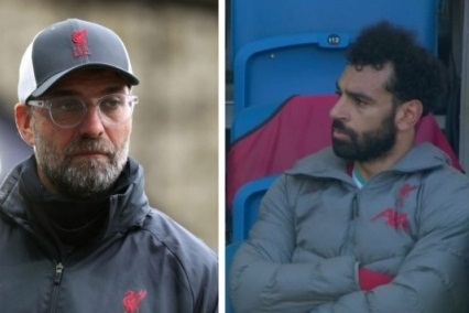 Tiền đạo Mohamed Salah tỏ thái độ bất mãn, Klopp phản ứng thế nào hình ảnh