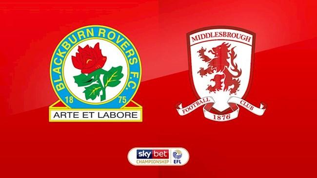 Blackburn vs Middlesbrough