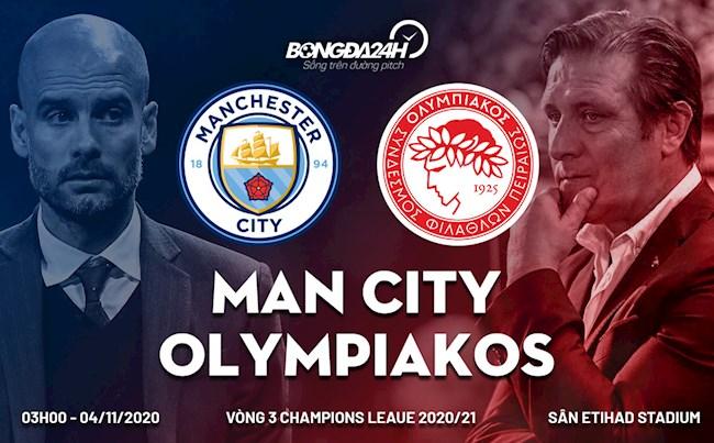 Man City vs Olympiacos