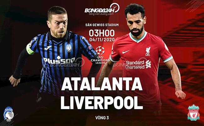 Truc tiep bong da Atalanta vs Liverpool cup C1/Champions League 2020/21 luc 3h00 ngay hom nay 4/11