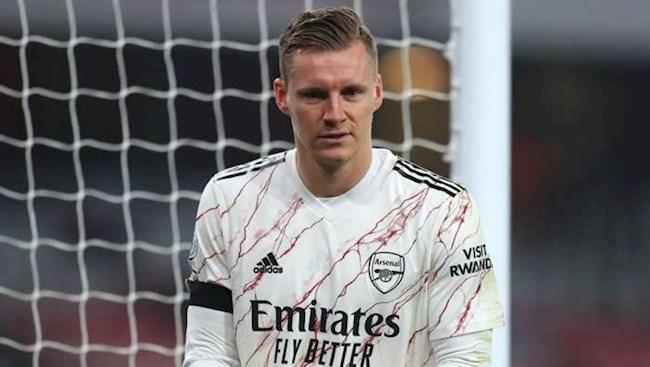 Tại sao Bernd Leno không mặc áo thủ môn trước Wolves hình ảnh