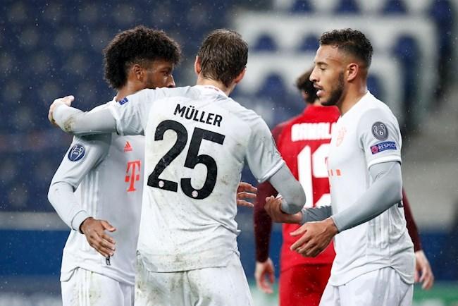 Kết quả Salzburg vs Bayern Munich cúp C1 2020 đêm qua hình ảnh