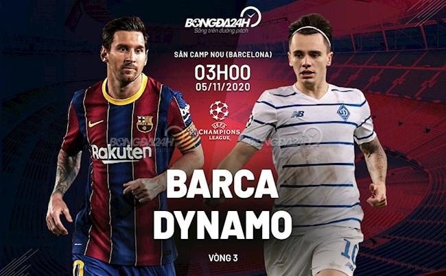 Barca vs Dynamo Kiev