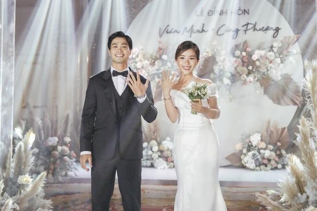 Đám cưới Công Phượng sang chảnh nhất Sài thành, khách mời phải quẹt thẻ ra vào hình ảnh 2