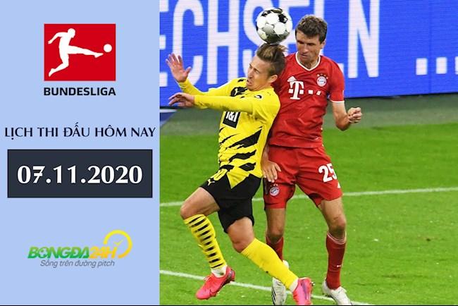 Lịch thi đấu Bundesliga hôm nay 7112020 - LTD bóng đá Đức hình ảnh