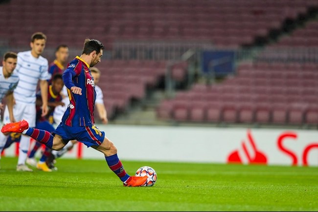 Bất ngờ với số bàn thắng của tiền đạo Lionel Messi từ chấm 11m hình ảnh