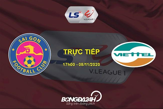 Trực tiếp bóng đá Sài Gòn vs Viettel link xem ở đâu hôm nay  hình ảnh
