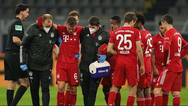 Bayern trả giá sau Klassiker với chấn thương của Joshua Kimmich hình ảnh