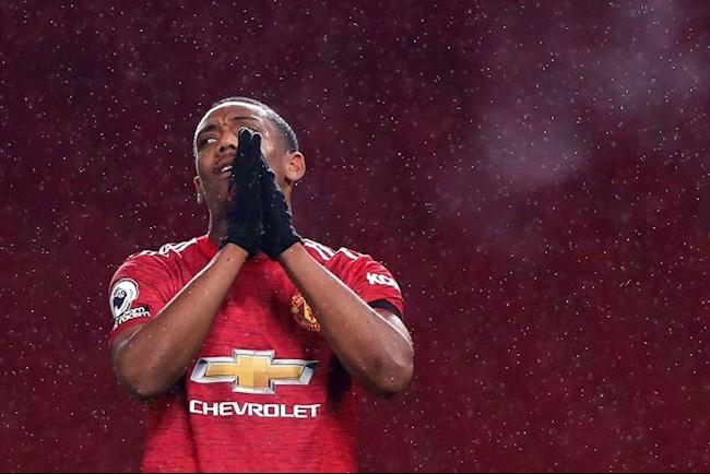 Tiền đạo Anthony Martial bỏ lỡ cơ hội không tưởng trước PSG hình ảnh