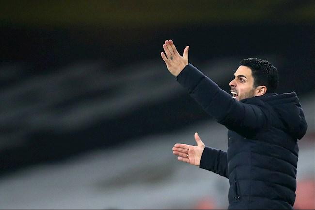 HLV Mikel Arteta nổ tưng bừng sau phát hiện mới ở trận gặp Rapid Vienna
