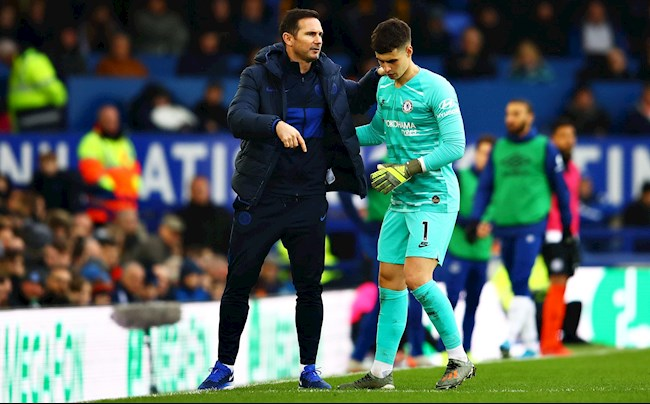 HLV Lampard lên tiếng về tương lai thủ môn Kepa hình ảnh