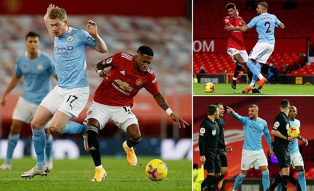 5 điểm nhấn trong trận derby MU vs Man City không như kỳ vọng hình ảnh