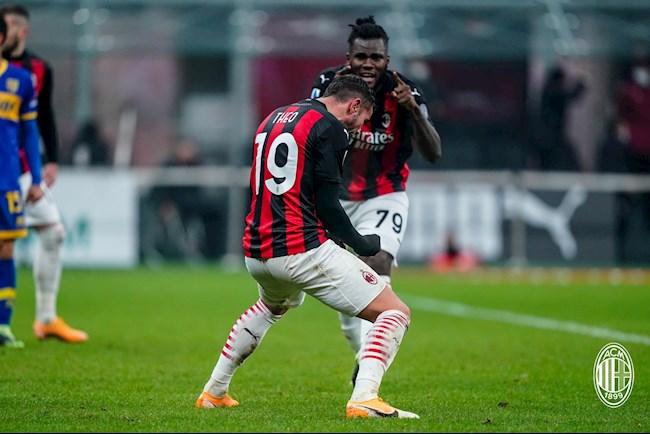 Video Kết quả AC Milan vs Parma Serie A 202021 đêm qua hình ảnh