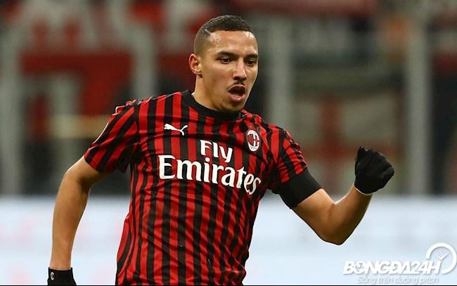 Tiểu sử cầu thủ Ismael Bennacer tiền vệ câu lạc bộ AC Milan hình ảnh