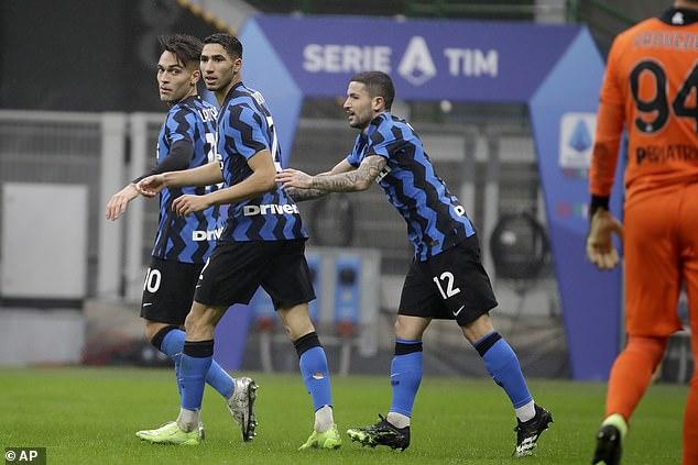 Video Kết quả Inter Milan vs Spezia clip Serie A hôm qua hình ảnh