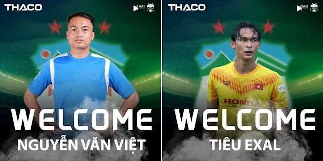 Tin chuyển nhượng V-League HAGL ra mắt hai tuyển thủ quốc gia hình ảnh