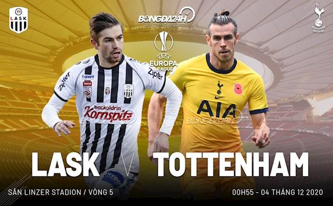 LASK vs Tottenham nhan dinh