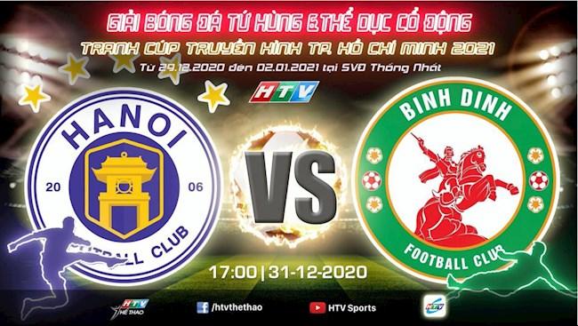Truc tiep bong da tu hung HTV 2021: Ha Noi vs Binh Dinh