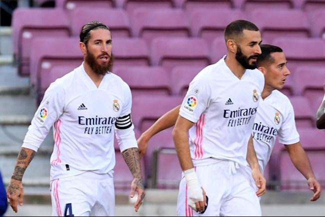 Trung vệ Sergio Ramos và các đồng đội họp khẩn, không có Zidane hình ảnh